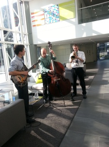 Entertainment was provided by The London Jazz Trio